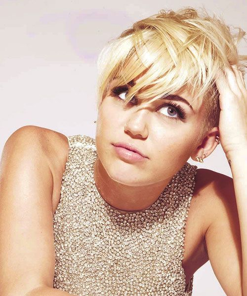 Miley Cyrus Pixie Haircut Miley Cyrus Pinterest Pixie Haircut