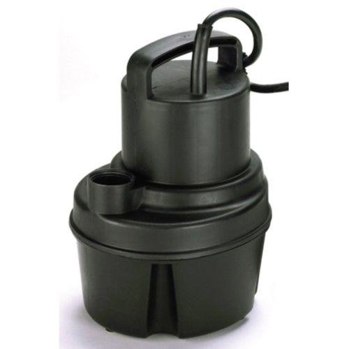 Proline By Pondmaster 02585 Mainstream Utility Sump Pump Sump Pump Pool Cover Pump Sump