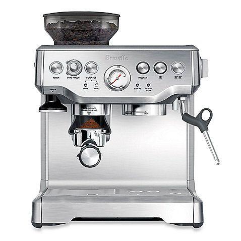 Breville The Barista Express Bes870xl Espresso Maker Best Home Espresso Machine Breville Espresso Machine Home Espresso Machine