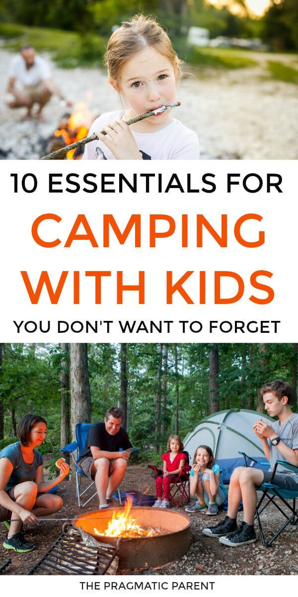 10 Essentials for Camping with Kids You Don't Want to Forget