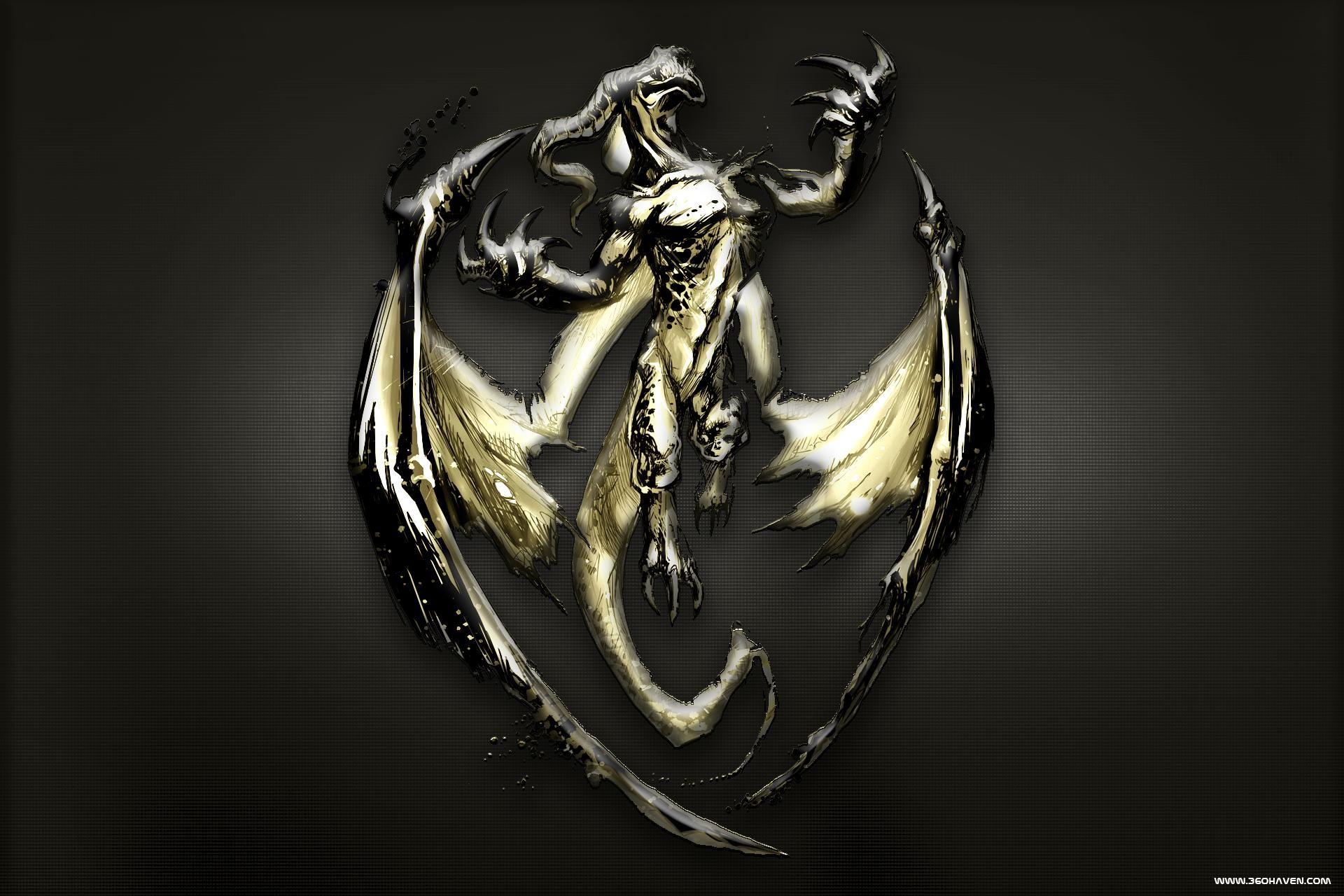 [Wallpaper] Golden Dragon Wallpapers 2