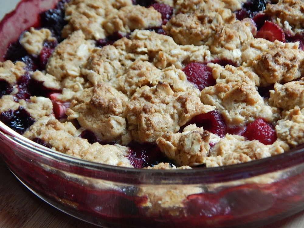 Berry crumble - Drizzle Me Skinny!