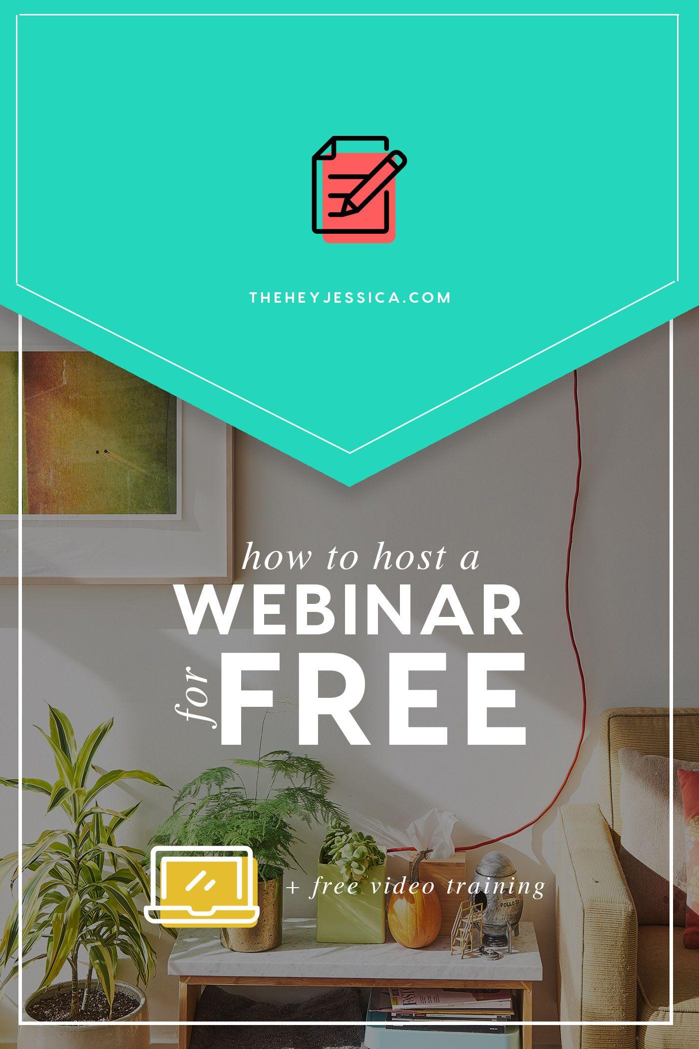 How To Host A Webinar On Youtube For Free Jessica Stansberry Webinar Webinar Design Webinar Marketing