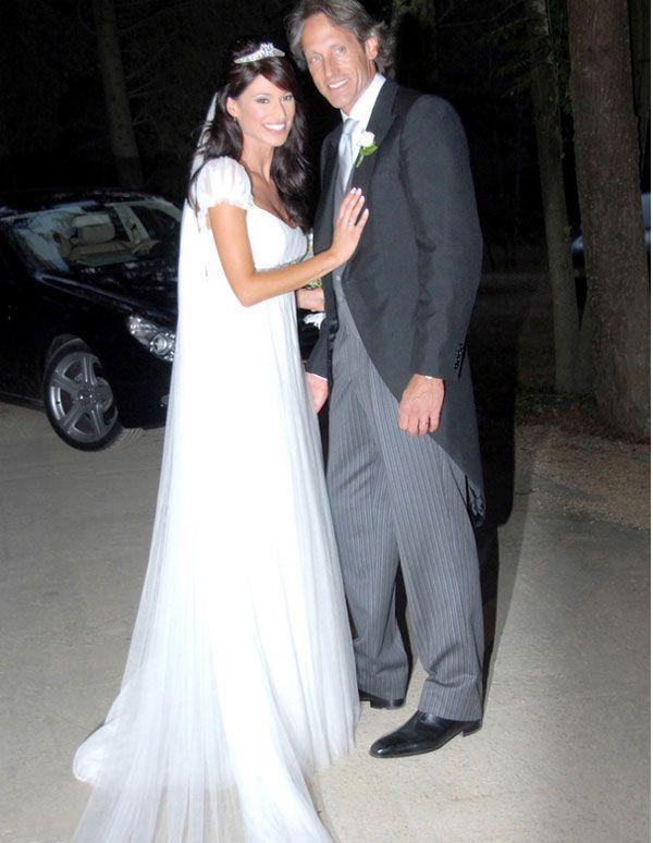 famosas con vestidos de novia de manuel mota | vestido de novia