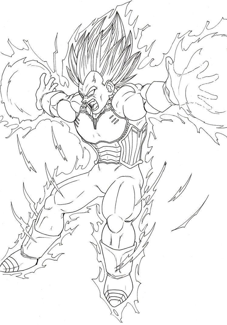 Super Saiyan Majin Vegeta Final Flash Google Search Dragon Ball Art Dragon Ball Dragon Ball Z