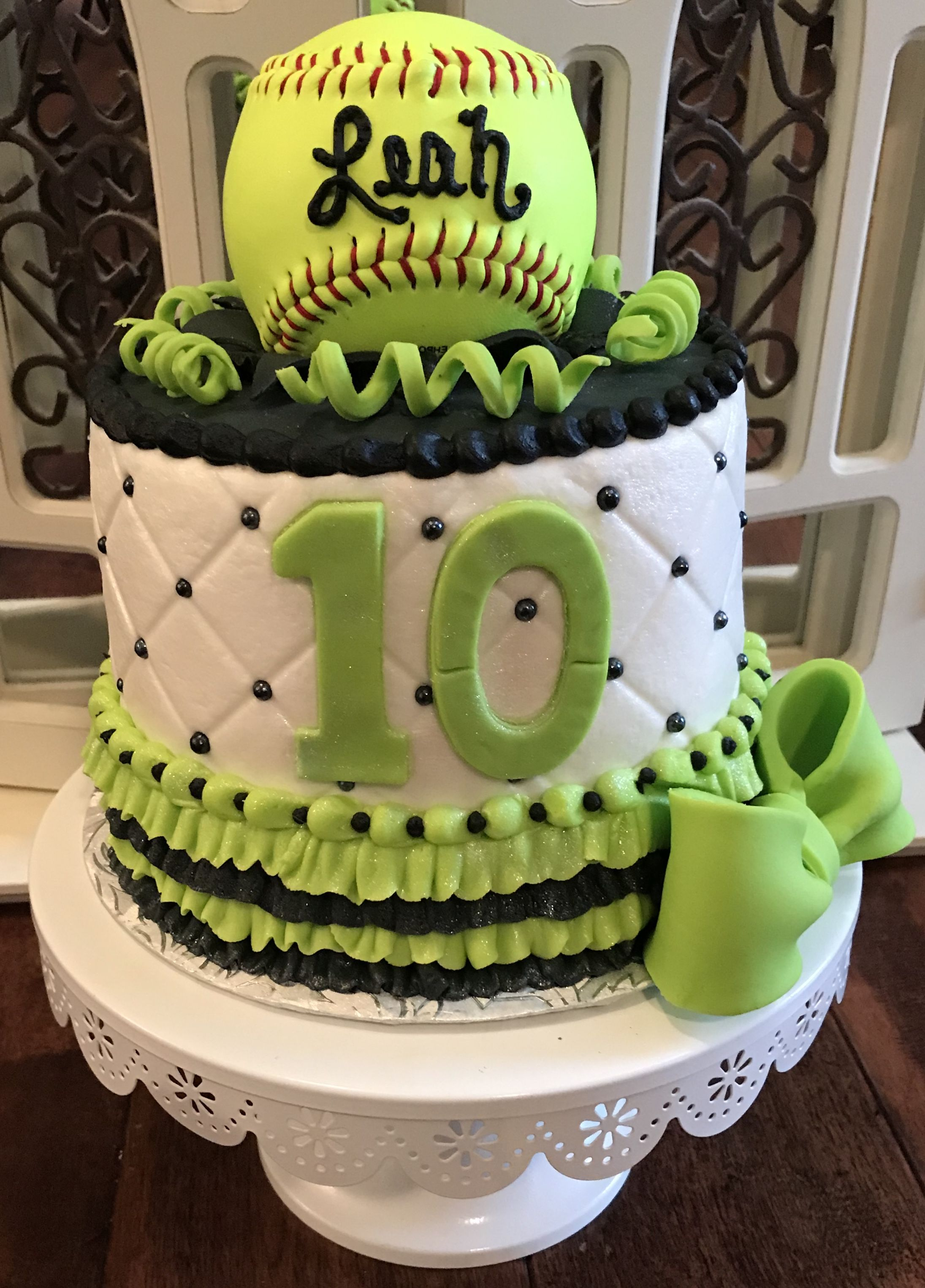 Fantastic Softball Cake With Images Softball Birthday Cakes Adult Personalised Birthday Cards Paralily Jamesorg