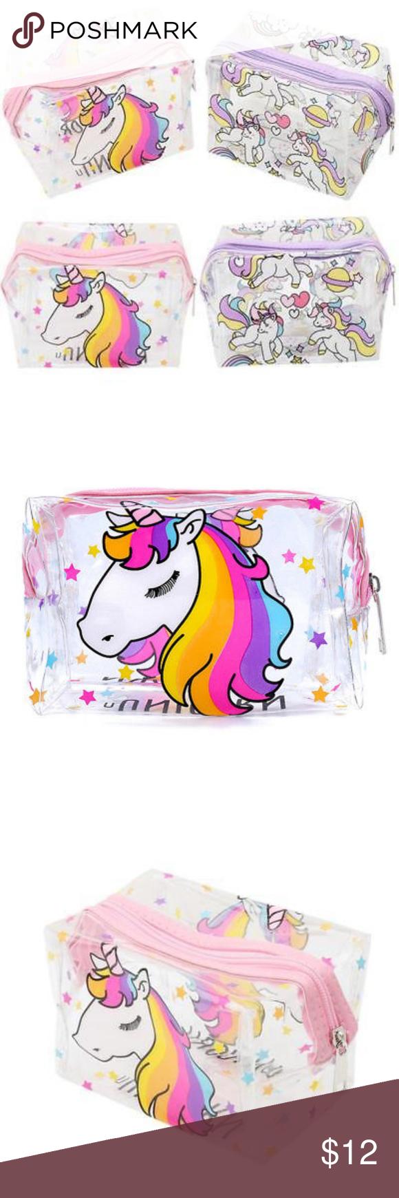 Cute Unicorn makeup bag cosmetics pouch NEW unused Unicorn