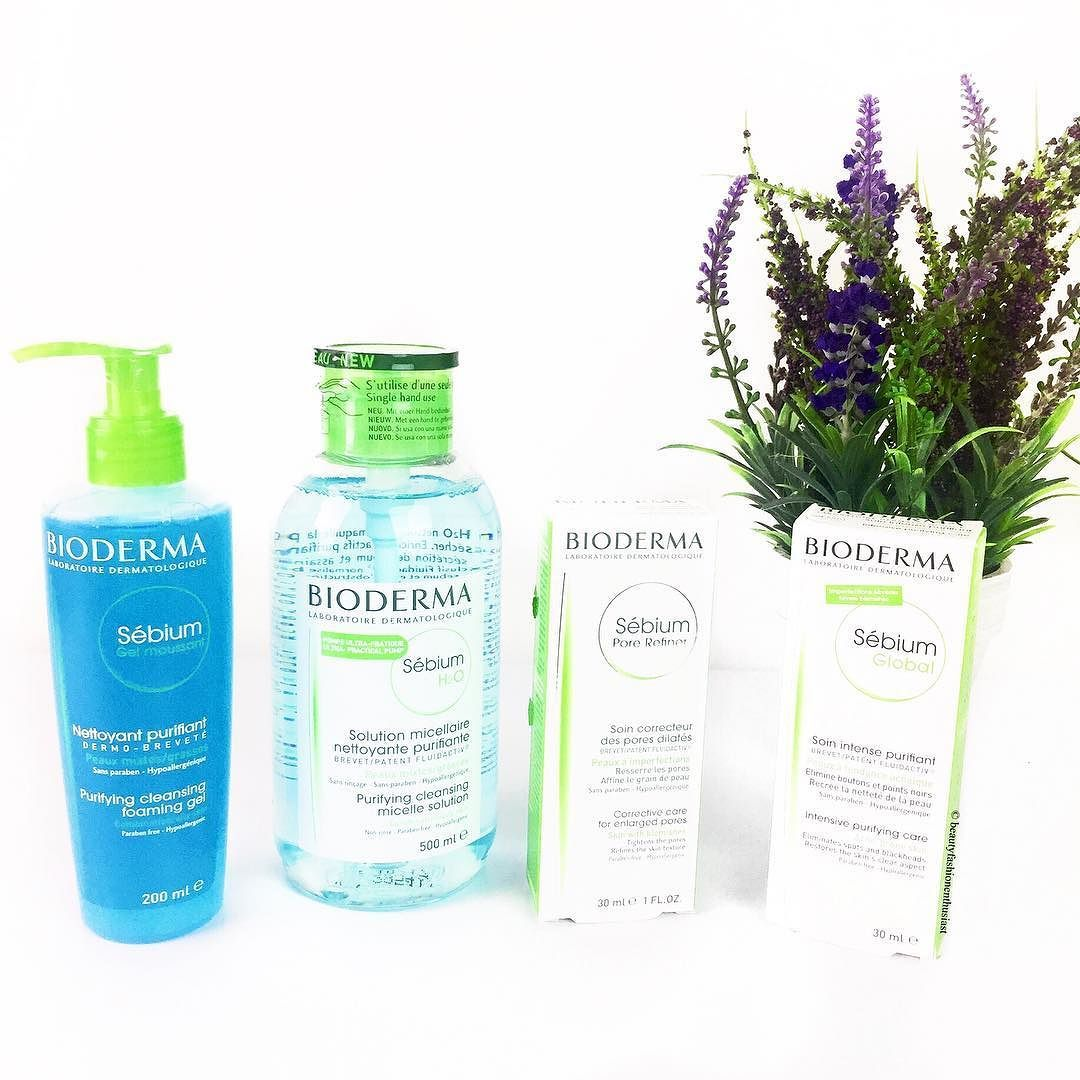 Bioderma Sebium Products Ft Sebium H20 Micelle Solution Sebium