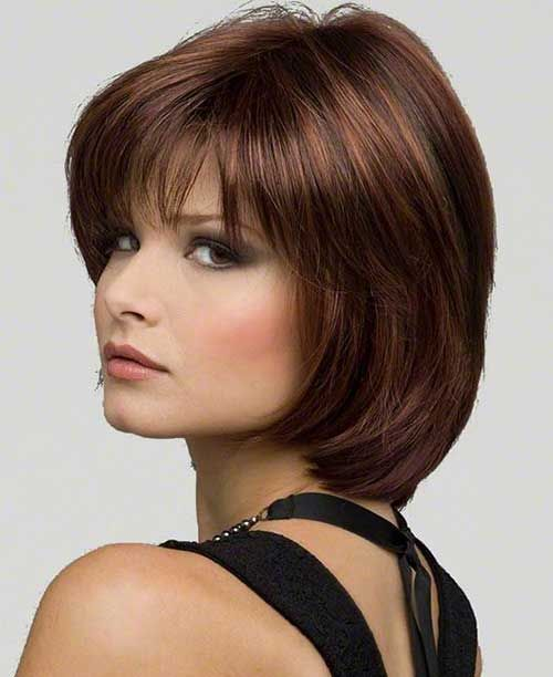 20 Short Hairstyles for Dark Hair | http://www.short-hairstyles.co/20-short-hairstyles-for-dark-hair.html