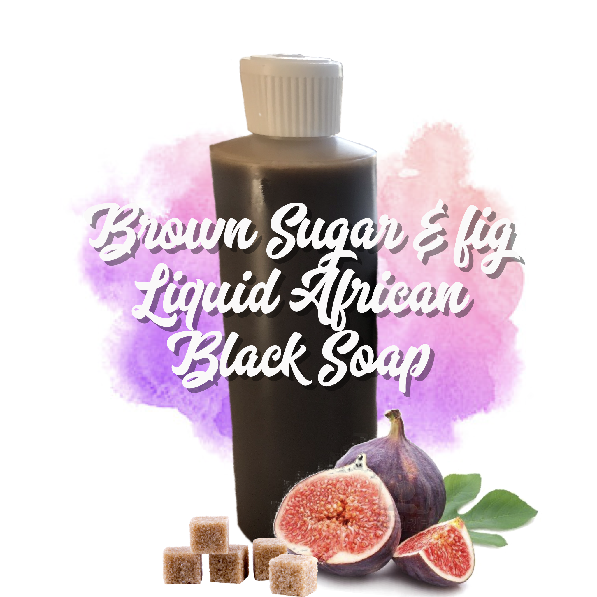 Brown Sugar & Fig Organic Authentic Liquid African Black