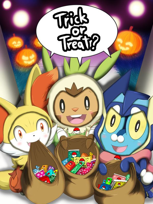 Trick Or Treat? ( Kalos ) by Winick-Lim.deviantart.com on @DeviantArt