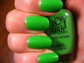 Piggy Polish Green
