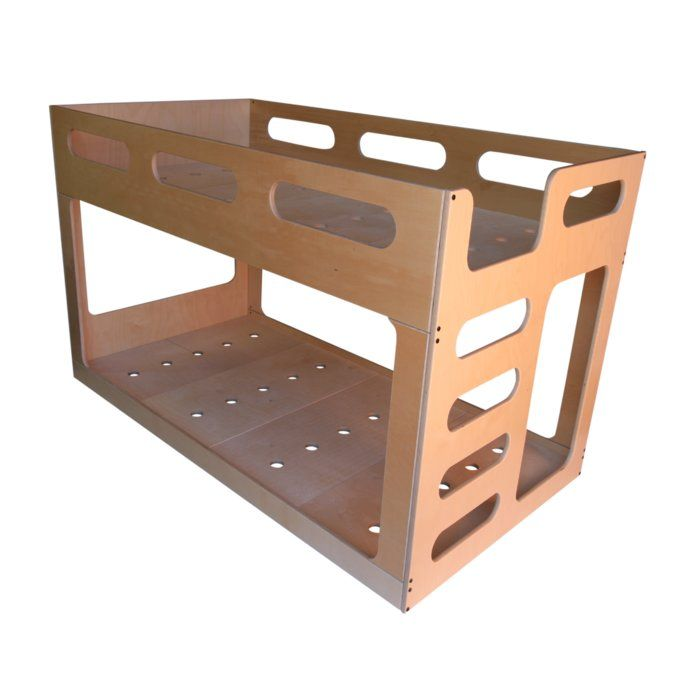 The Low Twin Bunk Bed Is Modern Sturdy And Built Low To The