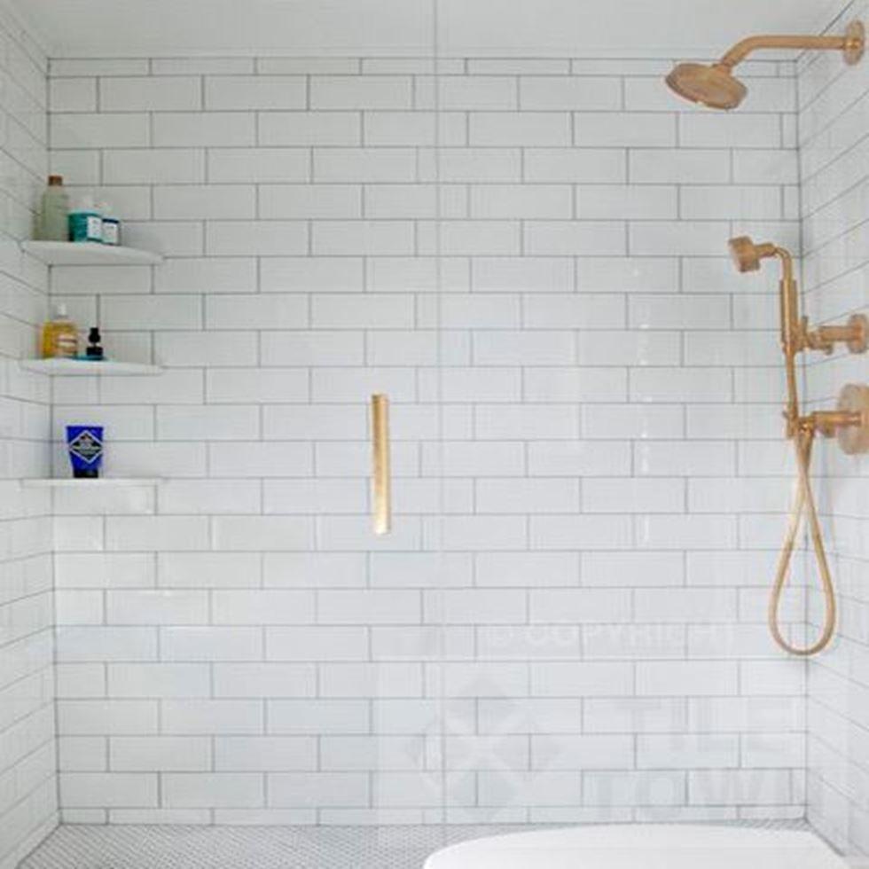 Quarndon White Bathroom Wall Tile This White Coloured Extra Large Metro  Kitchen U0026 Bathroom Wall Tile