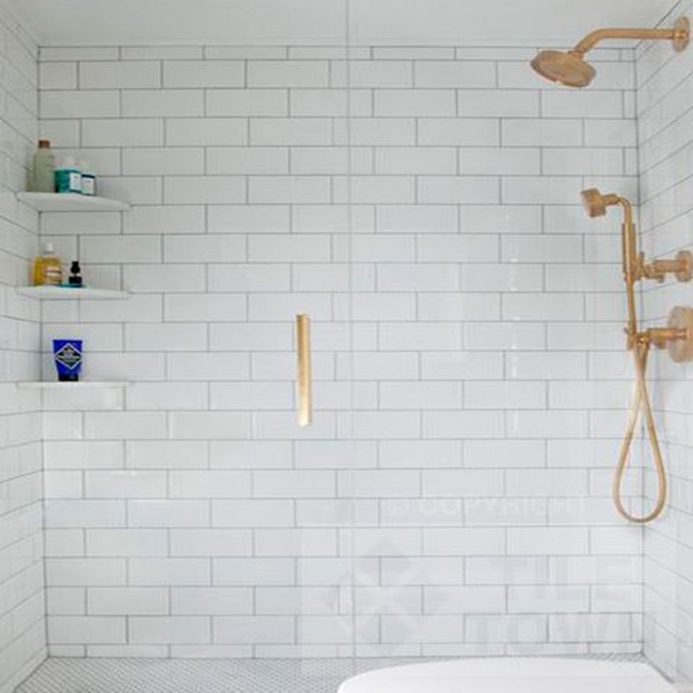 Quarndon White White Brick Tiles Bathroom White Brick Tiles Tile Bathroom