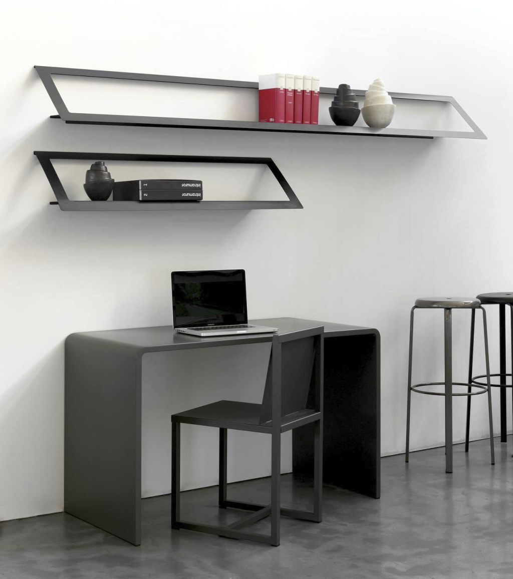 desks fascinating furniture desk table long mounted white and wall