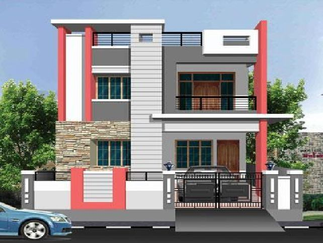 Front Elevation Colour Combination : Exterior house paint simulator single ideas