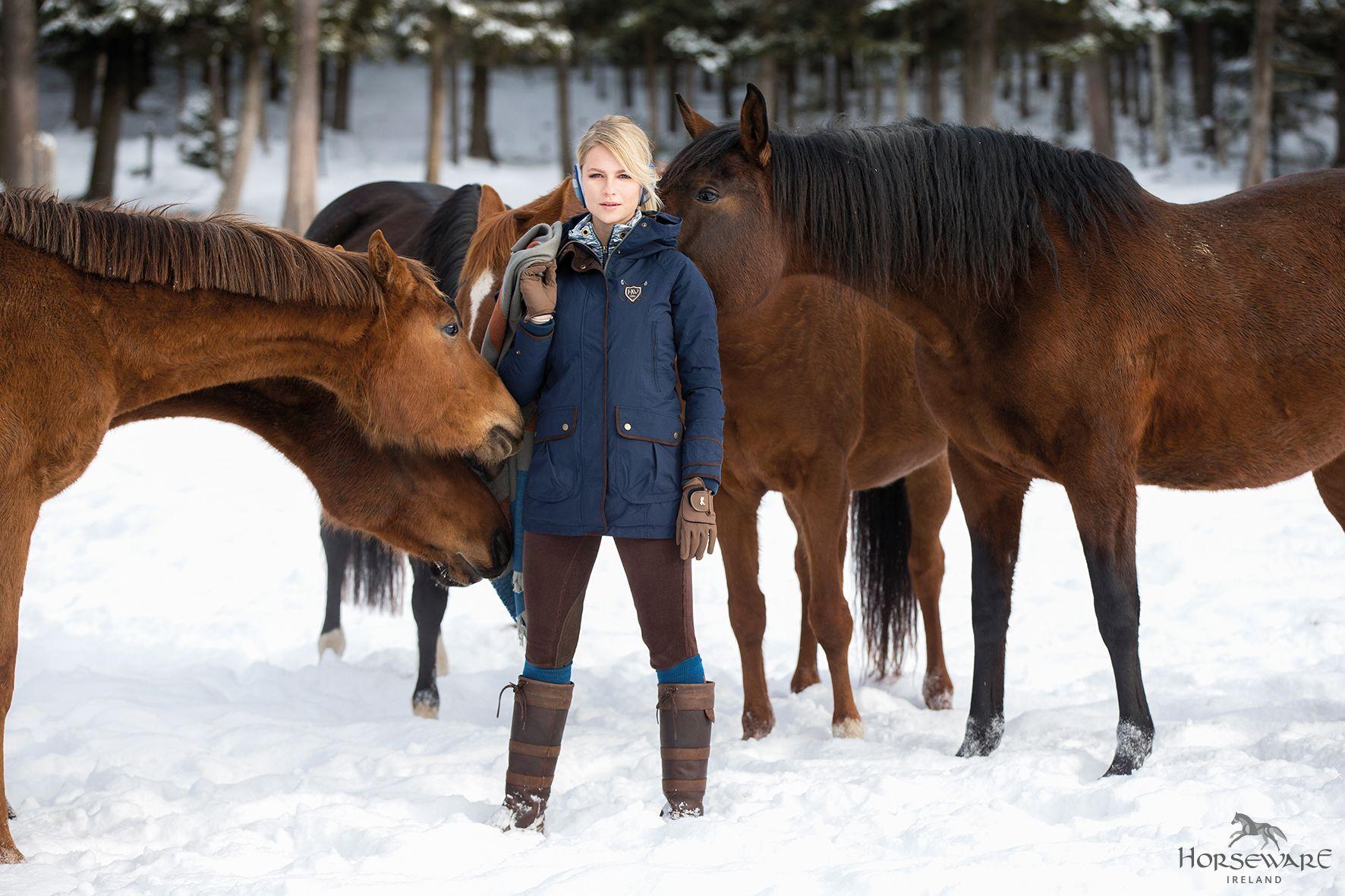 301ad94e2 Horseware Polo Collection A/W16: NEW Elina Parka Jacket | NEW Nina ...