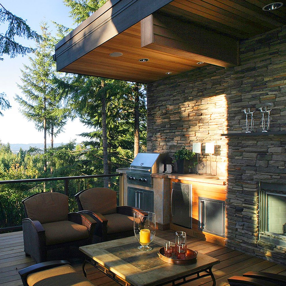 Outdoor Living Spaces - contemporary - patio - other metro ...