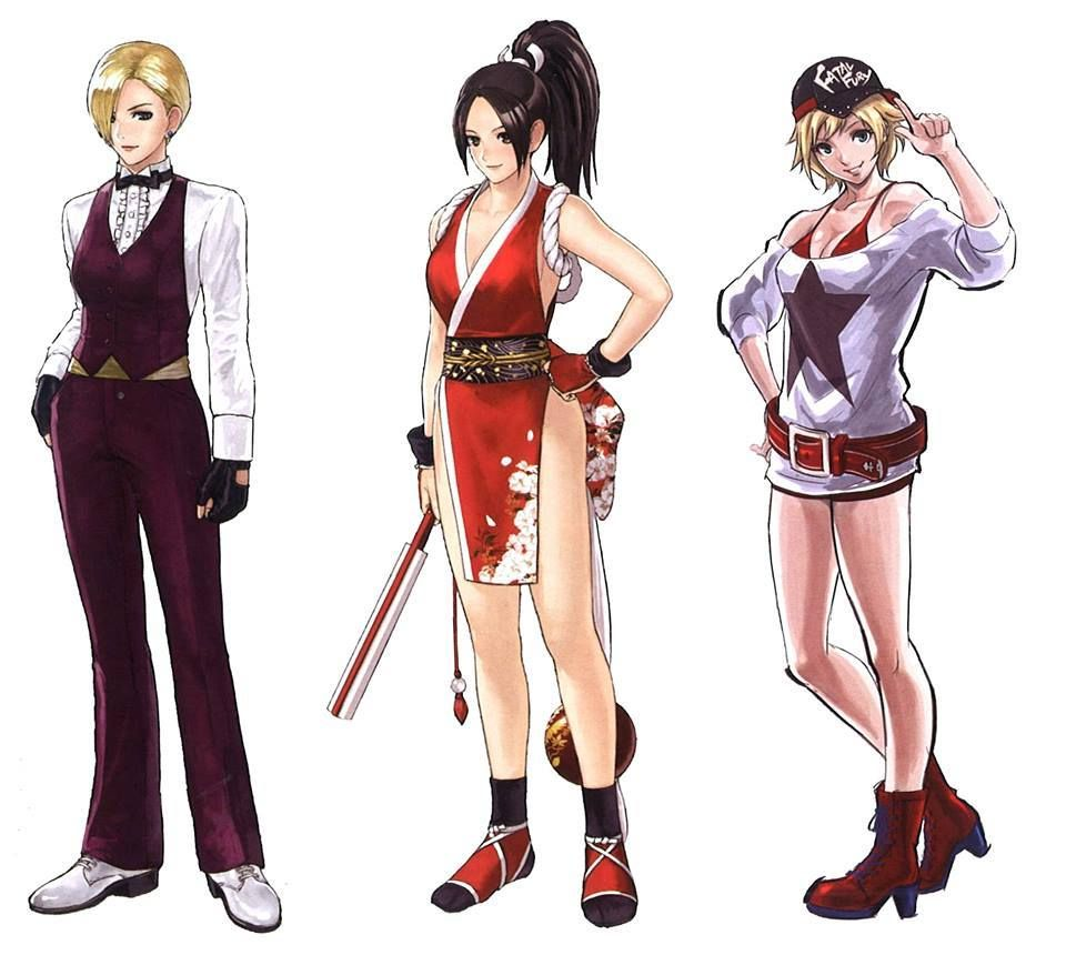 Personagens Do The King Of Fighters