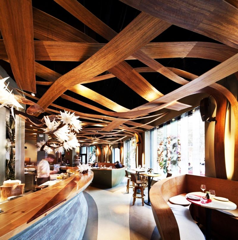The Article We Present You Today Presents A Gallery Of Top 5 Restaurant Interior Designs With