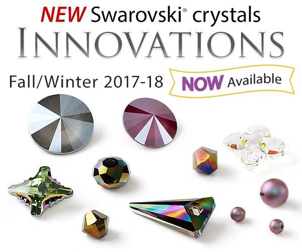 Swarovski crystal Innovations for Fall/Winter 2017-18 - Now Available!