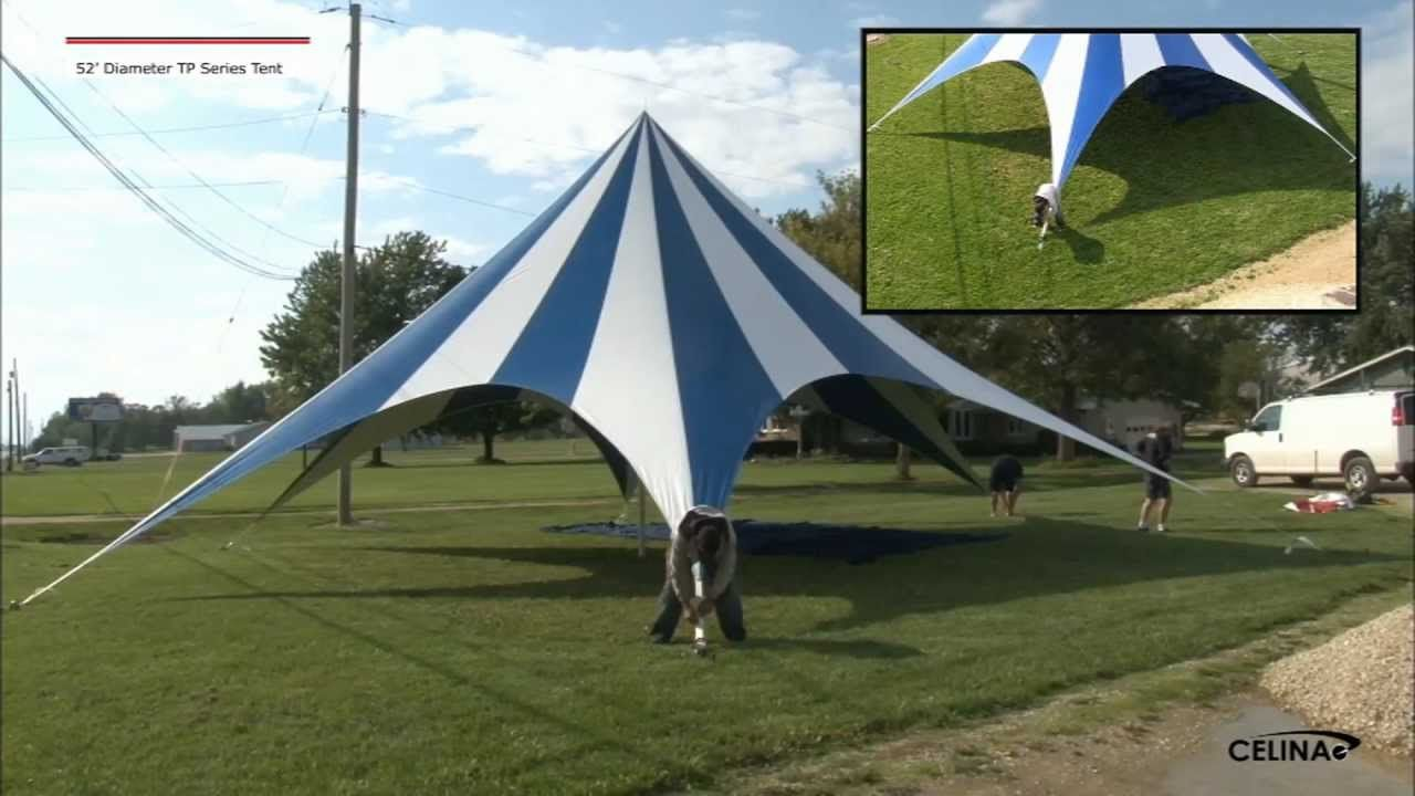 Wondering how to set up a 52' diameter #tp #series #tent