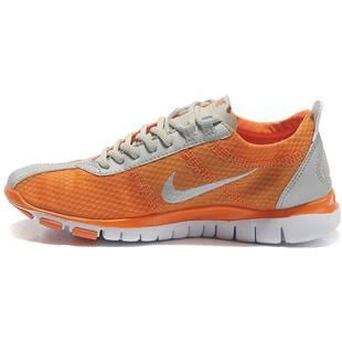 Nike Free Tr Shoes Lightgrey Twist Orange Women'S Sale Discount