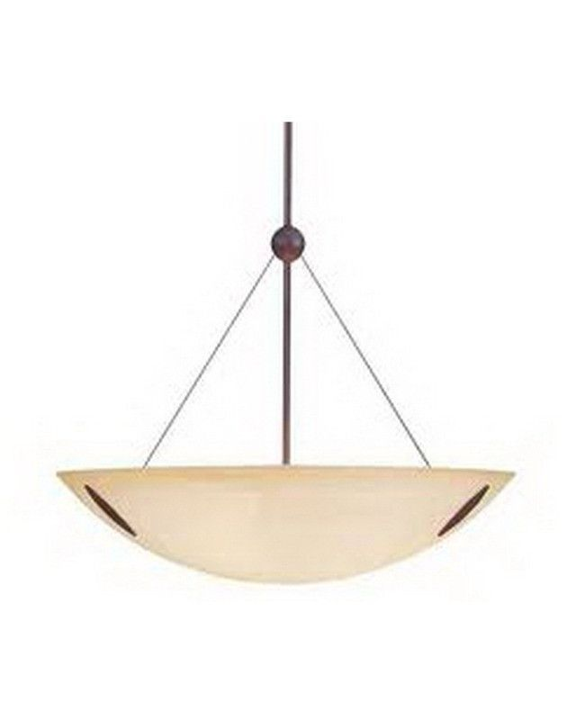International Lighting 10008 02 Three Light Pendant Chandelier In Artisan  Bronze Finish | Quality Discount