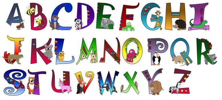 Completa colección de abecedarios para imprimir y colorear ...