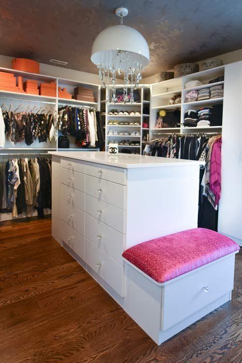 Spare Bedroom Converted to Dream Closet