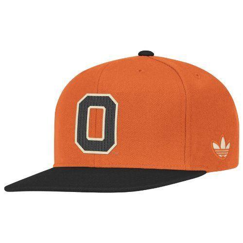 NCAA Oregon State Beavers Snapback Hat, One Size Fits All,Orange/Gray adidas