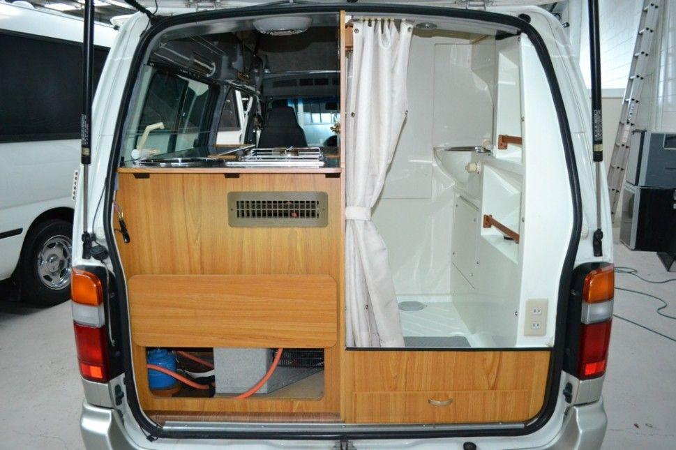 toyota hiace camper conversion google search camper ideas pinterest toyota hiace camper. Black Bedroom Furniture Sets. Home Design Ideas