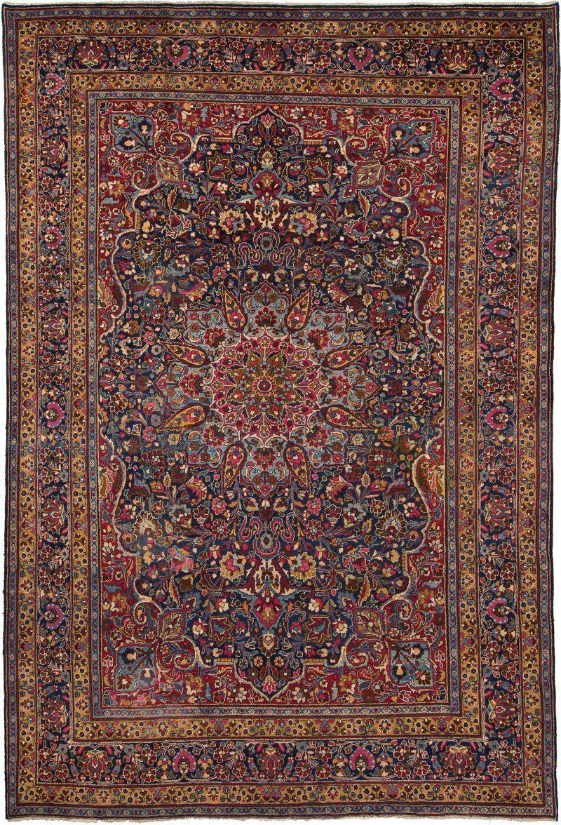 Tappeto Mashad 245x360 Oriental