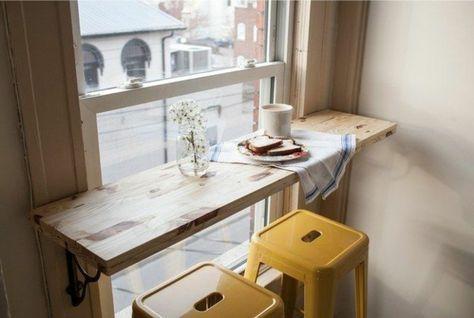 frühstücksnische kleine wohnung einrichten tipps