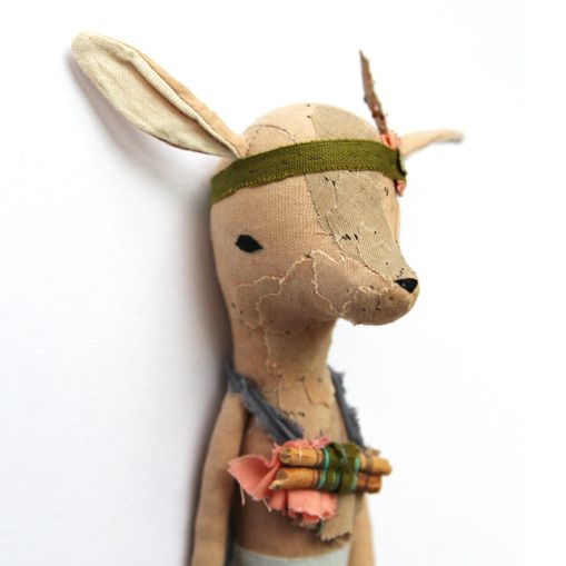 Abigail Brown's Little Deer, part of her new Myths Creature Collection - Kickcan & Conkers