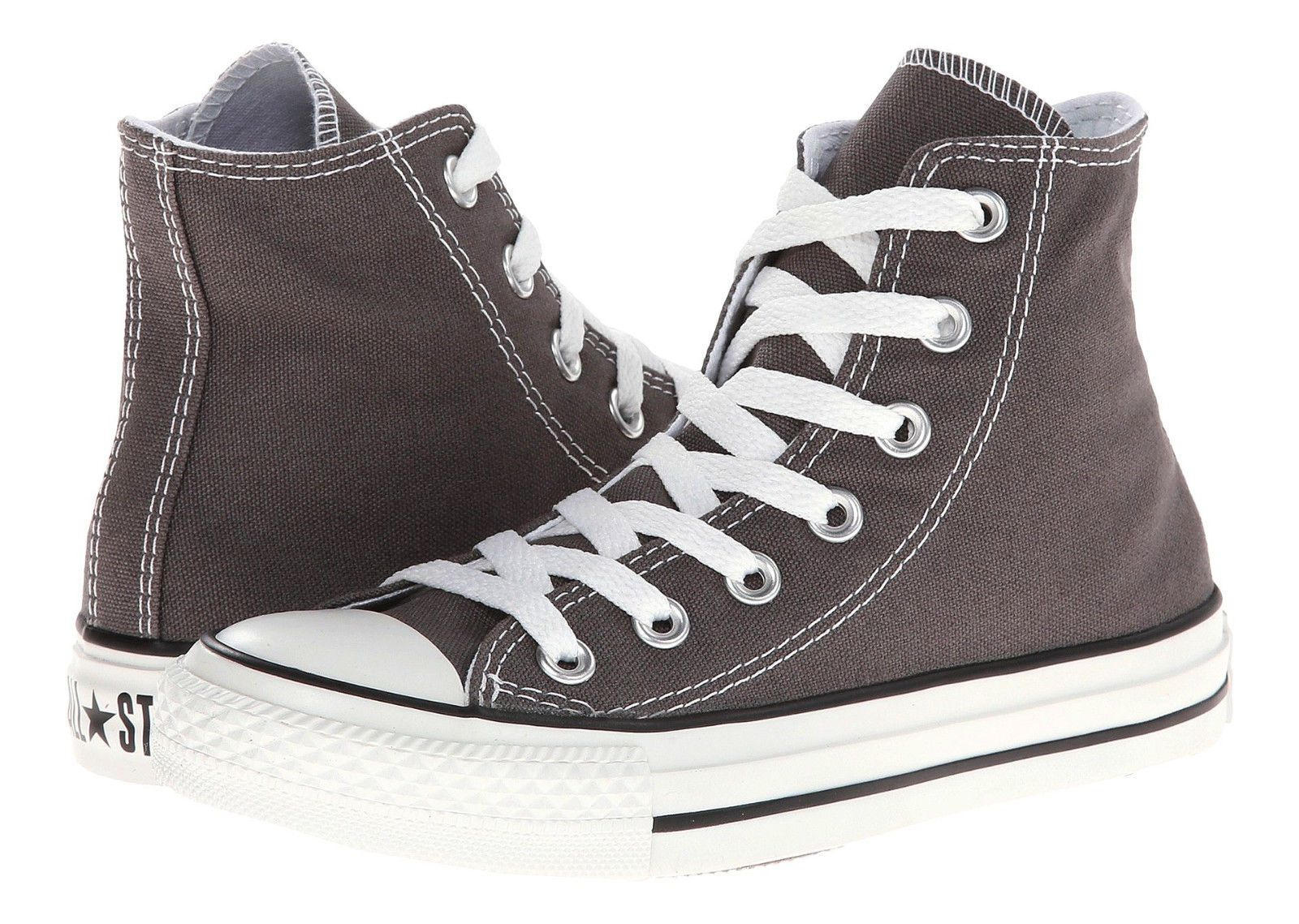 7deb3ae6f2d Converse Chuck Taylor All Star Hi Tops Charcoal All Sizes Womens Sneakers  Shoes
