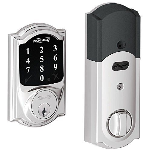 New Model Schlage Connect Camelot Touchscreen Deadbolt With Zwave