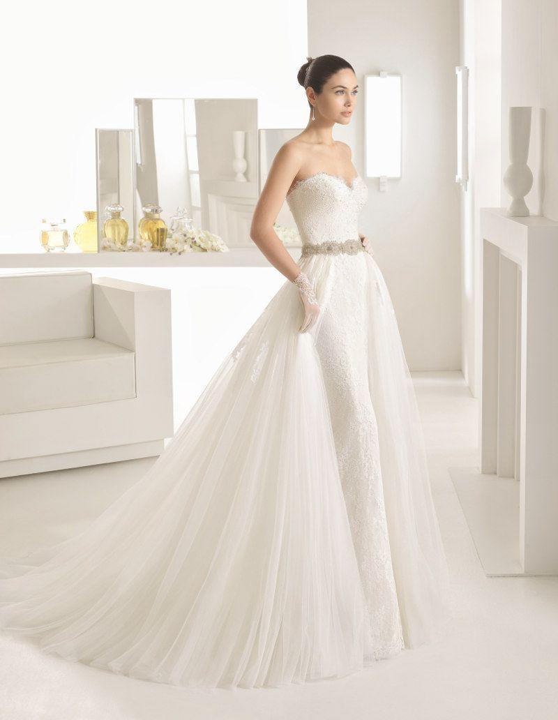 Super modern, elegant und weiblich! Brautkleider von Rosa Clará ...