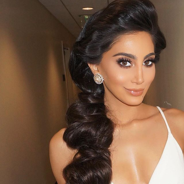 01bffb76cfa Yassi Ghalichi glam. Makeup by @makeupbysamuel using Lilly lashes in style
