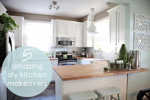 High Quality Diy Kitchen Makeovers Diy Small Kitchen Makeovers New Kitchen Style
