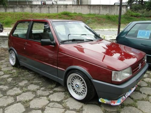 Fiat Uno Turbo With Bbs