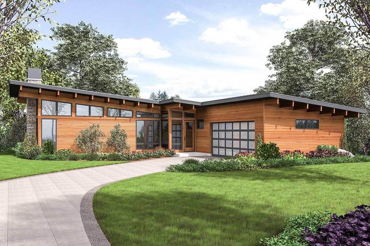 17++ Mid century modern farmhouse plans type