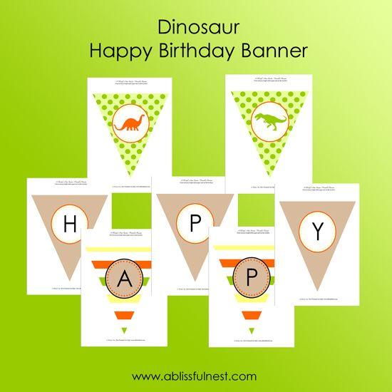 Dinosaur Themed Birthday Party Bday party ideas