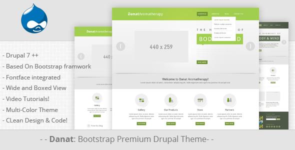 Danat Responsive Drupal Theme Drupal Responsive Website Template Web Template Design