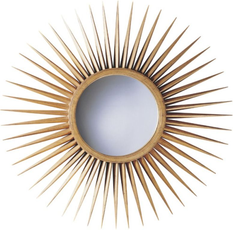 Baker Furniture Starburst Mirror Products I Love