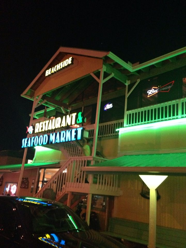 Beachside Seafood Restaurant Market In Jacksonville Beach Fl