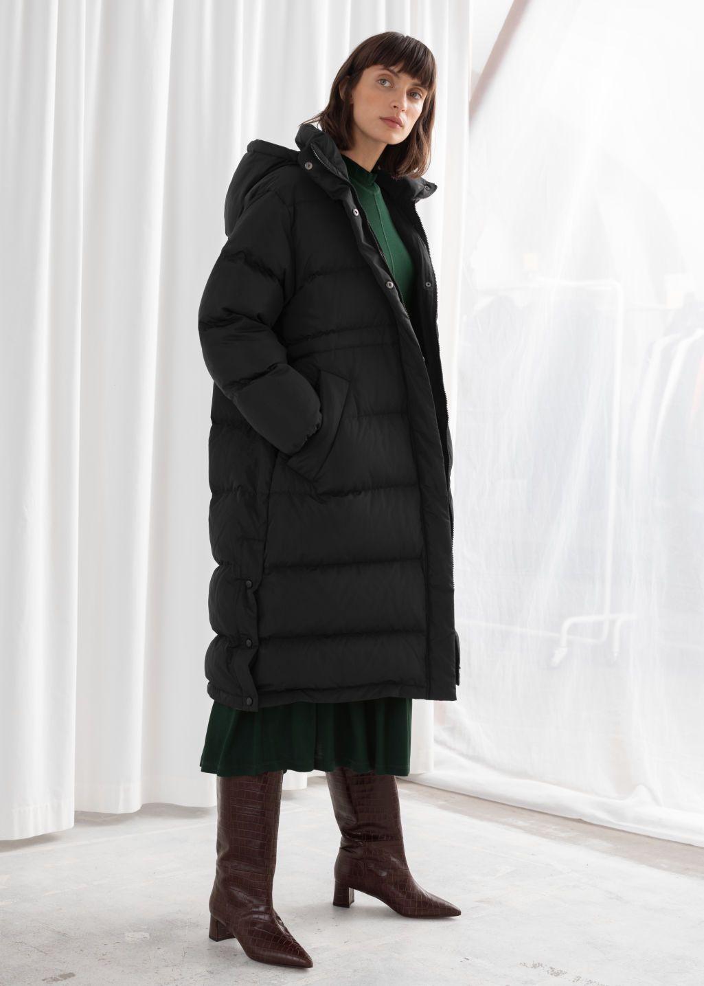 Hooded Down Puffer Coat Frakker Jakker [ 1435 x 1025 Pixel ]