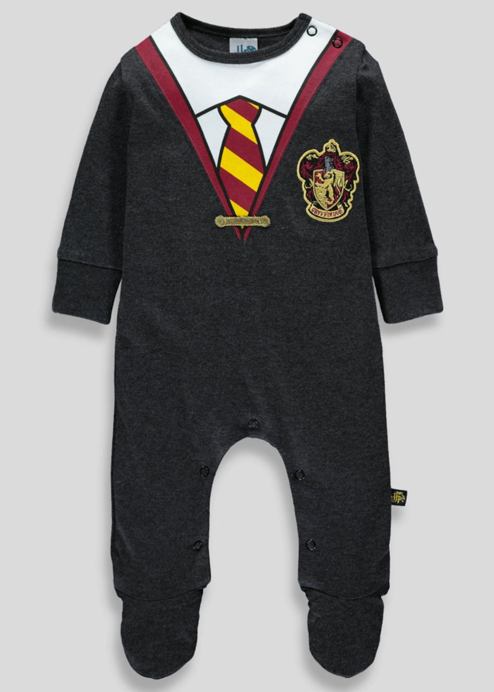 f1c2e0ca0511 Unisex Harry Potter Babygrow (Newborn-12mths) – Grey