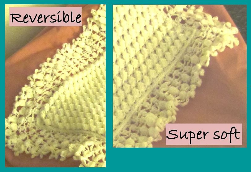 Ravelry: Mary Liz Warm and Lacy Reversible Baby pattern by Susan Kerin